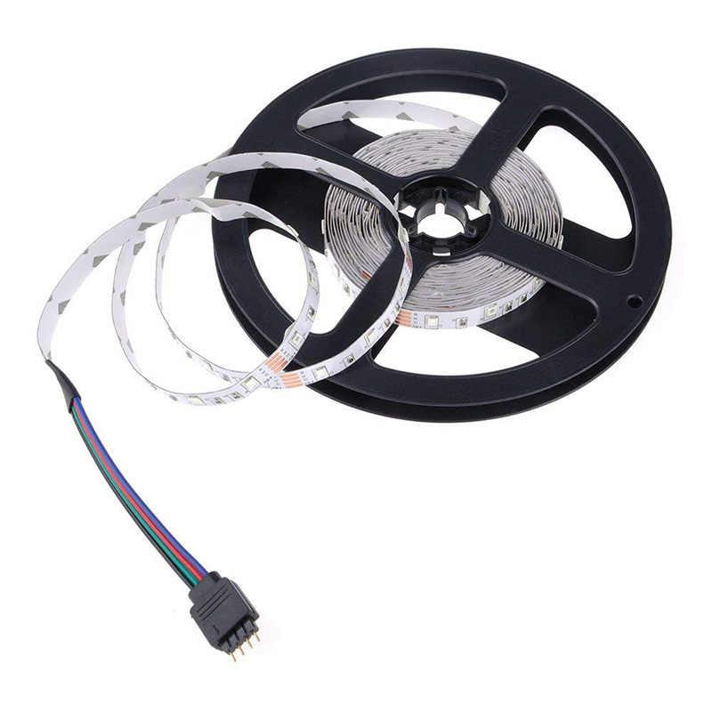 DC 5 В/6 в USB SMD светодиодные полосы 3528 гибкий свет RGB лампы светодиодные полосы света ТВ фоновое освещение клейкая лента 1 м 2 м 3 м 5 м