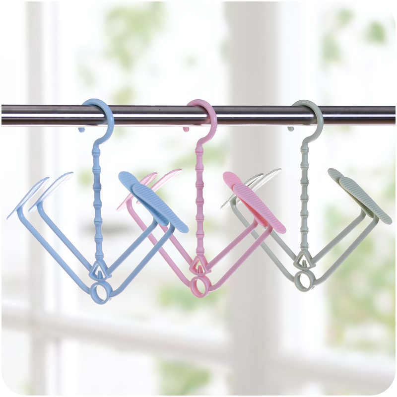 Wind-proof Shoes Hanging Hook Multi-function Foldable Shelf Shoe Hanger Balcony Shoe Drying Rack Stand Home Storage Holder Racks