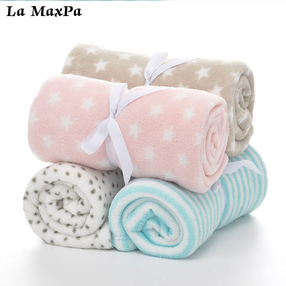 Baby Blankets Newborn Cartoon Soft Comfortable Blanket Coral Fleece Manta Bebe Swaddle Wrap Bedding Set 75*100cm Nap blanket cotton lamb fleece blanket 115 115cm 100% cashmere double face blankets nordic style