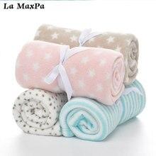 Baby Blankets Newborn Cartoon Soft Comfortable Blanket Coral Fleece Manta Bebe Swaddle Wrap Bedding Set 75*100cm Nap blanket недорого
