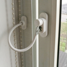 High Quality Door Window Lock Child Baby Safety Security Cable Catch Wire And Restrictor