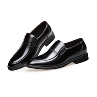 1 Pair Business Men Leather Shoes Breathable Casual Flat Shoes New
