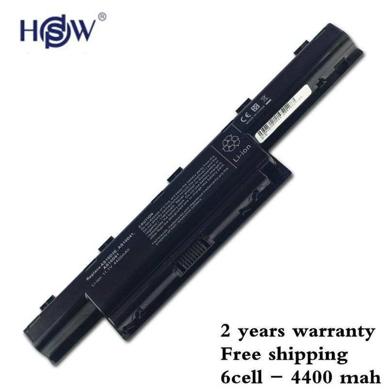 5200mah 6 Cell Battery For Acer AS10D31 AS10D81 AS10D51 AS10D3E AS10D71 AS10D75 4741G 4741ZG 4741Z V3-571g 7750G 4741 5741 5750G