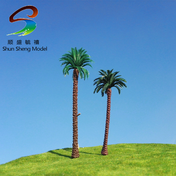 100 pcs Wholesale-100mm simulation model tree Landscape Train Model Scale architectural scenery