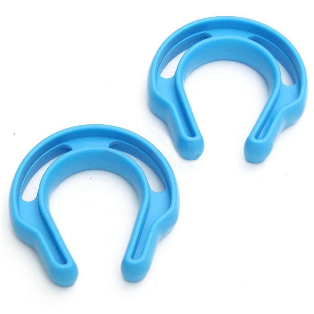 2 uds gran oferta plástico forma de U tapón de puerta Clip bebé seguridad puerta tarjeta infantil puerta parada