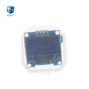 Image 5 - Módulo de pantalla OLED de 0,96 pulgadas 128X64, color blanco y azul, módulo de pantalla OLED para Arduino 0,96 IIC comunicación SPI 10 Uds.