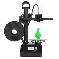 DMSCREATE DP2 3D printer kit 150*150*200mm printing size lightweight with high quality extruder stable printing precision