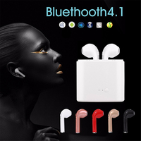 Pewant I7S TWS True Wireless Bluetooth Earphone Headset Mini Stereo Sports Earbuds With Mic Charging Box