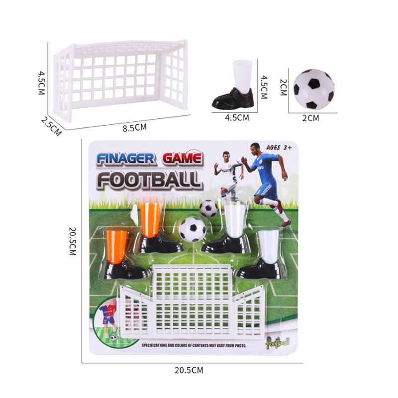 New Children\'s Mini Finger Soccer Game Match Toys Fingertip Football Set Table Game Sets With Two Goals
