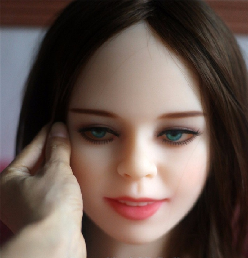 High Quality Full Size sex doll head for love doll, realistic TPE sexy doll heads with oral sex, sex toy for menHigh Quality Full Size sex doll head for love doll, realistic TPE sexy doll heads with oral sex, sex toy for men