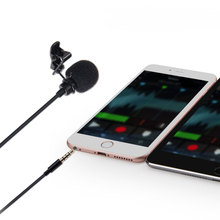 Aputure A.lav ez Omnidirectional Lavalier Condenser Microphone with Wind Shield Windscreen 10ft Kevlar Reinforced Cable for IOS