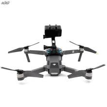 Mavic pro extension bras support de fixation pour gopro & osmo action & projecteur support fixe pour dji Mavic pro 1 drone accessoires