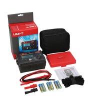 UNI T UT501A Insulation Resistance tester meter megger earth ground resistance Voltage Tester Megohmmeter Voltmeter + Backlight