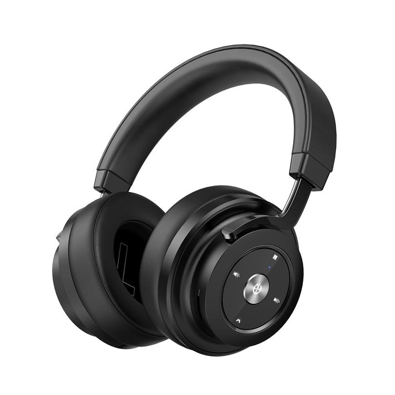 Aibesser aptx handphone earbud on-ear 3D surround sound heavy bass effect Hi-Fi 400mAh TF slot wireless ear headphone for games