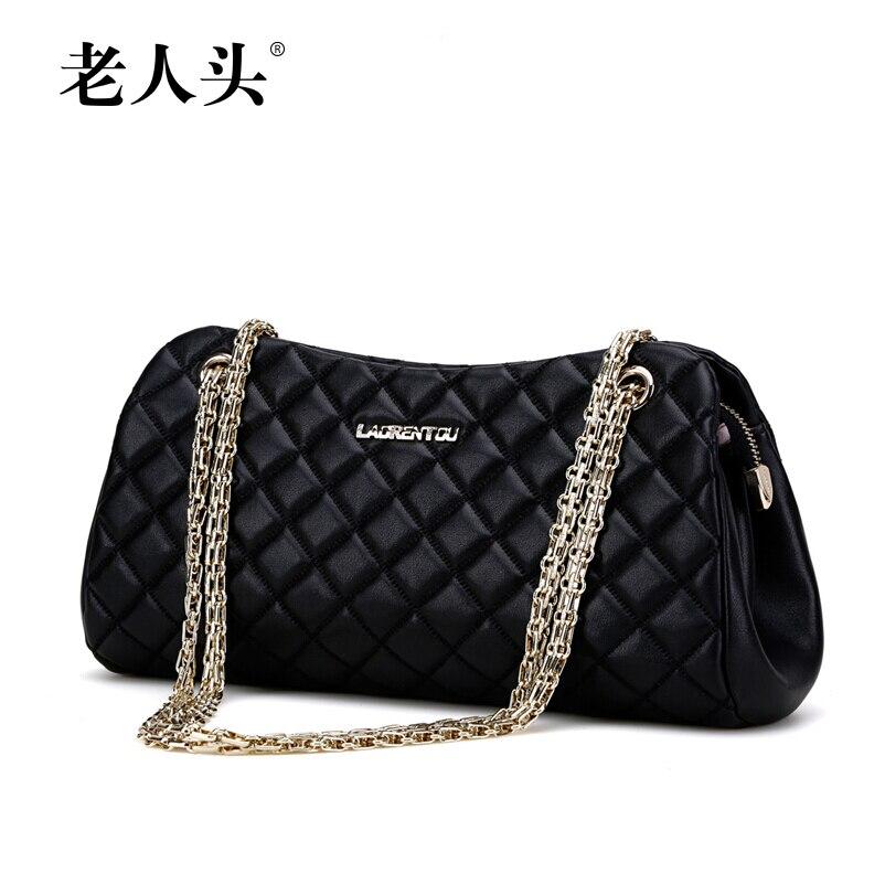 Famous brand women bag 100% high quality genuine leather bag fashion luxury women handbags chain Messenger Bag famous brand bag 100