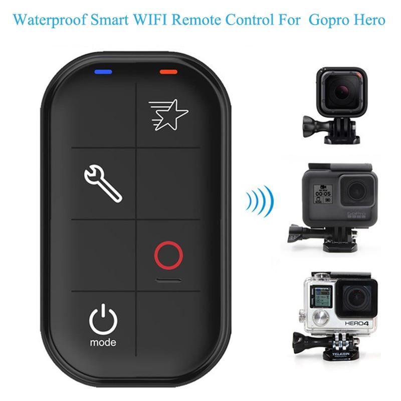 Go Pro Hero5 Waterproof Smart WIFI Remote Control Set Controller Charging Cable for GoPro Hero 6 Hero 5 Hero 4 Session Hero 3+