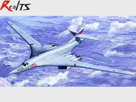 RealTS Trumpeter 1/72 01620 Tu160 Blackjack Bomber Model Kit blackjack 9