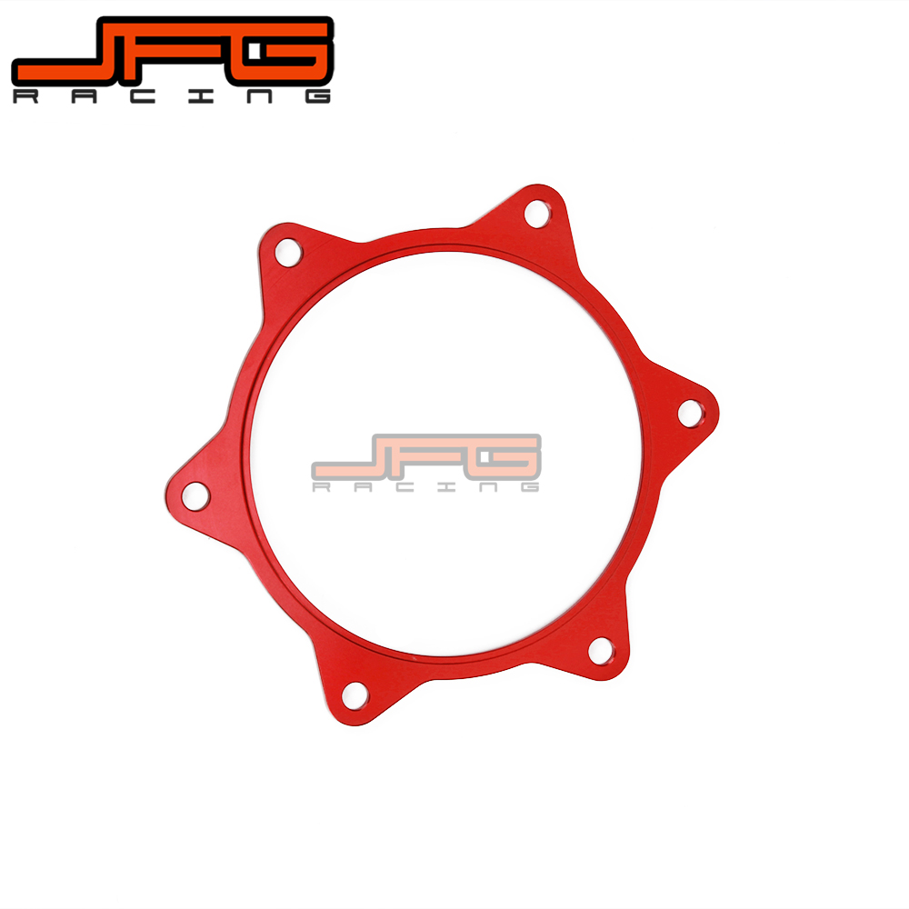 Rear Wheel Sprocket Spacer Raiser for HONDA CRF 450R CRF450R 2012 2013 2015 CRF250R CRF 250R 2014 2015 Red red cnc pivot brake clutch levers for honda crf 250r 450r crf250r crf450r 2004 2006 crf 250x 450x crf250x crf450x 2005 2016
