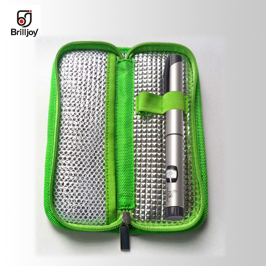 2018 Brand Insulin Cooling Bag Diabetes Travel Portable Insulin Storage Cooler Bag BolsaTermica Insulin refrigerated ice pack