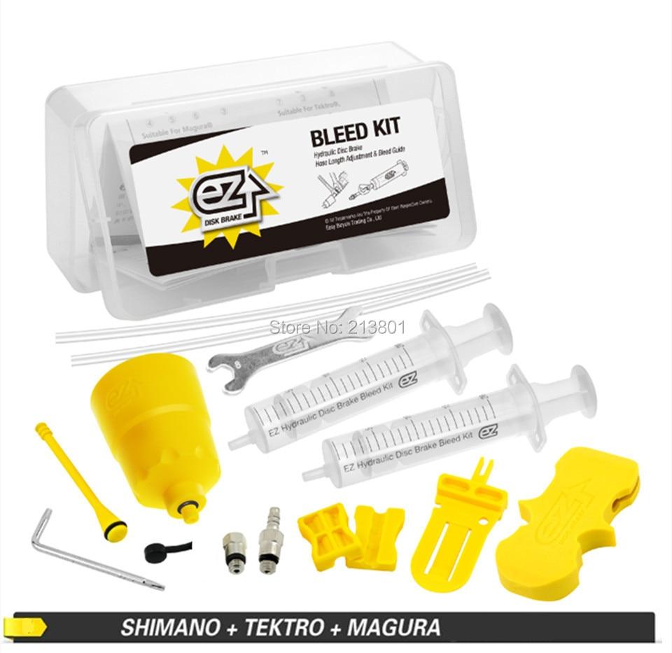 EZ/'s Bicycle Hydraulic Disc Brake Bleeding Tool Kit for Shimano/&Tektro