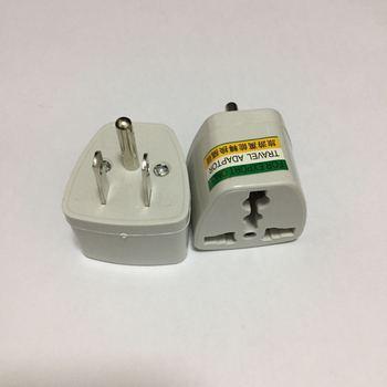 Adaptador de viaje de 3 pines EE. UU. Enchufe de enchufe Universal americano US UK AU adaptador de enchufe conector de cargador de corriente