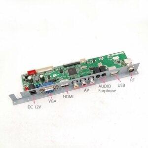 Image 2 - V29 V56 V59 SKR.03 DJ2 плата драйвера телевизора перегородка железная подставка фиксированная поддержка плата контроллера ЖК