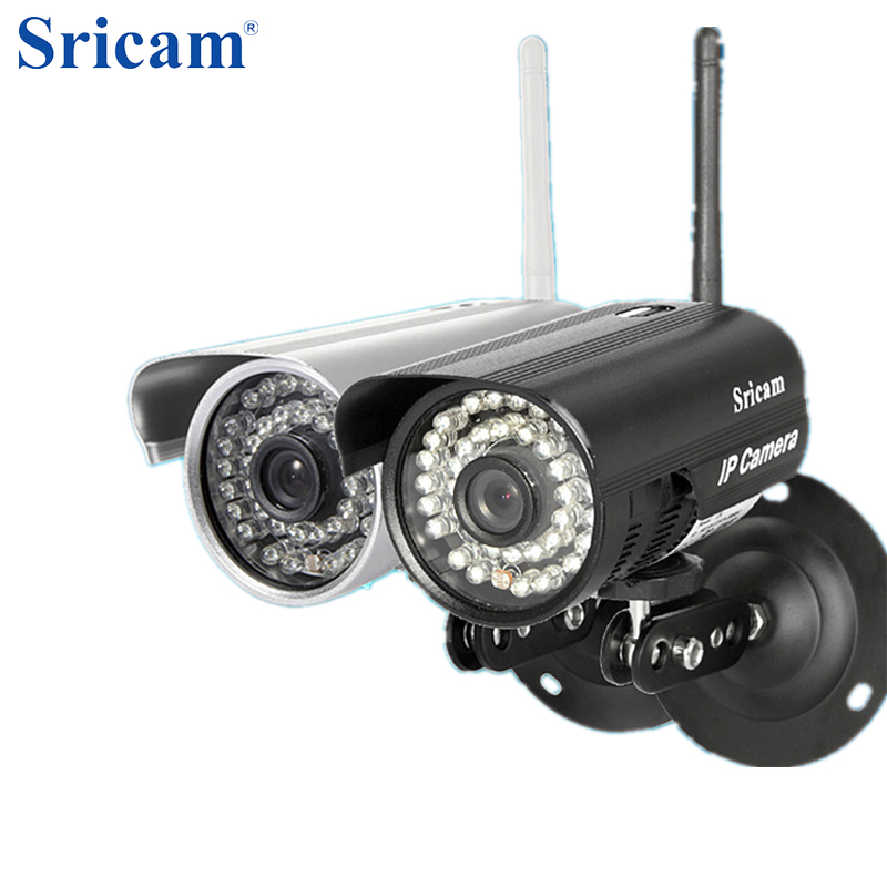 Sricam SP013 720P HD H.264 WIFI IP Camera Infrared Wireless Security CCTV Camera Onvif IR LED Night Vision Motion Detection suneyes sp p702w┬а720p wireless┬аdome┬аeyeball hd ip┬аcamera┬аw tf onvif motion 2 led ir night vision
