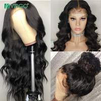 Virgo Hair Body Wave Wig 360 Lace Frontal Wig Pre Plucked With Baby Hair Remy Brazilian Wig Human Hair 150% Density 360 Lace Wig