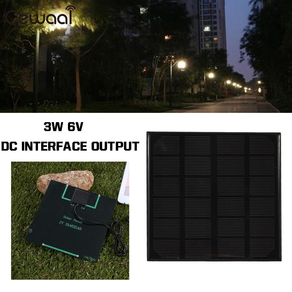 Portable Solar Generator Solar Light Solar Charger Pane Travel Solar Panel DC Output