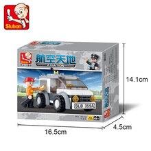 SLuban 0359 75PCS 32/5000 Экспресс-автомобиль Legoings игрушки для детей образовательные строительные блоки 3D DIY Цифры День рождения