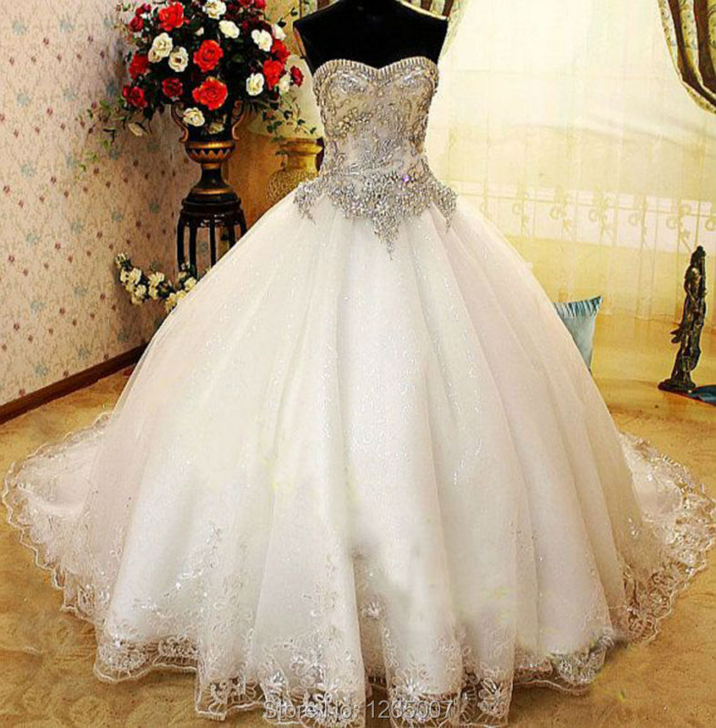 Compare Prices on Sparkly Princess Wedding Dress- Online Shopping ...