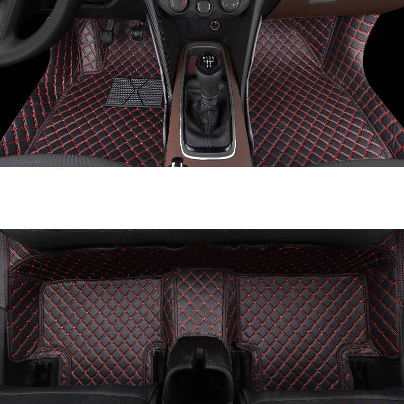 lsrtw2017 fiber leather car floor mat for chevrolet Cavalier 2017 2018 2019 2020 in Interior Mouldings from Automobiles Motorcycles