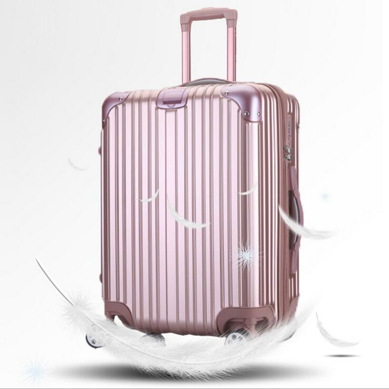 2024 All Aluminum Luggage Hardside Rolling Trolley Luggage travel Suitcase 20 Carry on Luggage Checked Luggage hardside rolling luggage suitcase 20 carry on 242628 checked luggage aluminum frame pc shell luggage travel trolley suitcase
