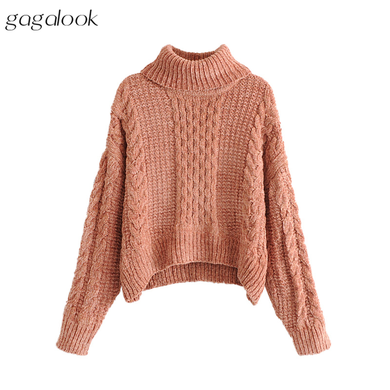 Aliexpress.com : Buy gagalook Turtleneck Sweater Women Autumn ...