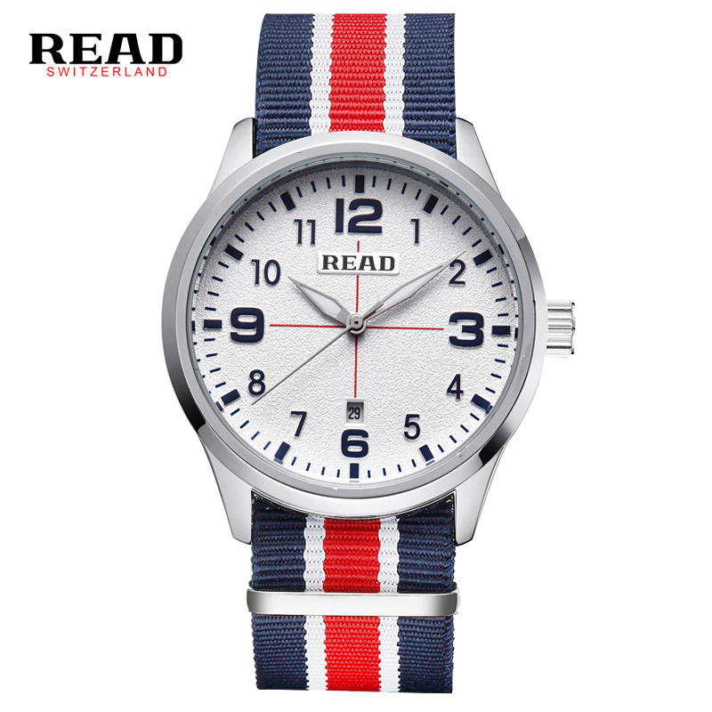 READ brand top 2017 new Luxury Brand army black face digital sport men s wrist watches