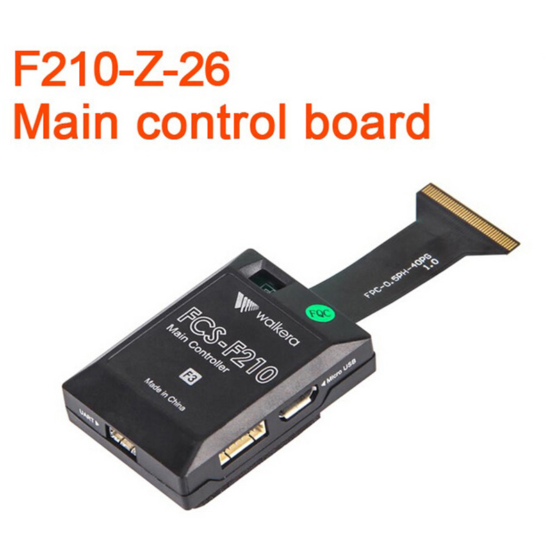 Original Walkera F210 RC Helicopter Quadcopter Spare Parts Main Control Board Flight Control F210-Z-26 h22 007 receiver board spare part for h22 rc quadcopter