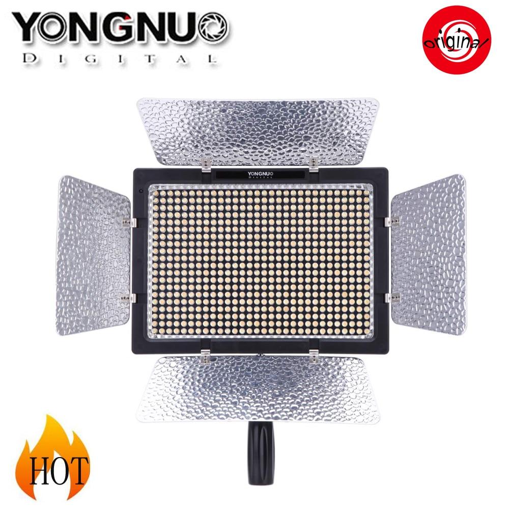 Yongnuo YN 600L 600 LED Studio Video Light 3200k 5500k Lamp Color Temperature for Canon Nikon