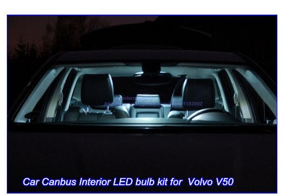 Deechooll 7 stks Auto interieur Verlichting lamp voor Volvo V50, wit ...