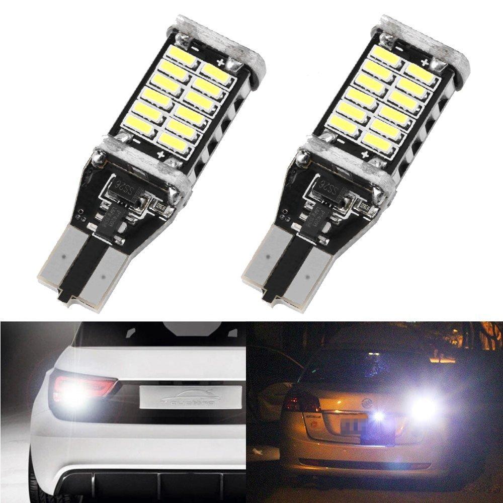2PCS High Power 9W T15 W16W 30 4014 SMD LEDs LED Light Car Styling Canbus Turn Singal Brake Stop Light Bulb Lamp 12V 24V