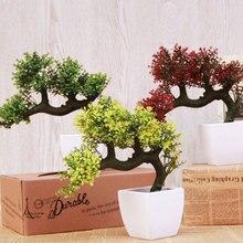 2017 Real New Artificial Pine Bonsai Tree For Sale Floral Decor Simulation Flores Artificiais Desktop Display Fake Plant
