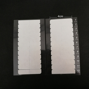 Image 3 - 10 枚 120 個 4 センチメートル * 0.8 センチメートル強力なダブル両面テープステッカースーパーヘアーヘアエクステンションツール