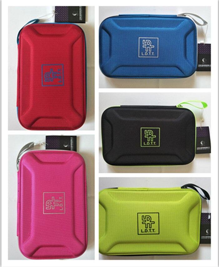 Original Lidu square table tennis case high quality rectangle table tennis bag table tennis rackets bag