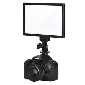Image 4 - Viltrox L116T Super Slim Studio LED Video Light 3300K 5600K Bi color LCD Display CRI95+ for DSRL Camera Camcorder +2M AC Adapter