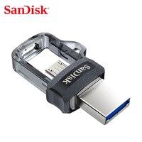 Карта памяти Micro SD SDDD3 флешки 64 GB OTG USB3.0 128 GB двойной OTG USB Flash Drive 32 GB флэш-накопитель 16 GB Скорость чтения до 130 м/с