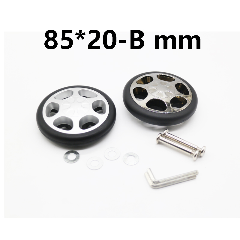 replacement luggage Inline Wheels Dia: 85 x 22mm ...