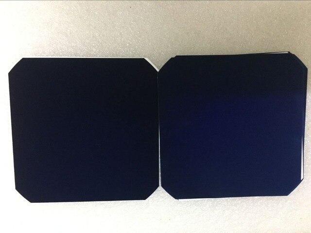 50Pcs X Sunpower Zonnecel 21.8% Hoge Efficiëntie 3.34W 125X125 C60 Monokristallijn Voor Solar Impuls Vliegtuig
