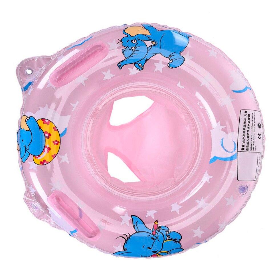 Детские двойная ручка Детская безопасность сиденья float Плавание кольцо надувные младенческой Дети Бассейны Кольца воды Игрушечные лошадки Плавание круг для активности