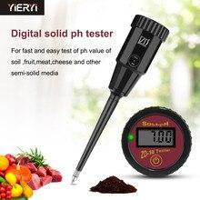 Yieryi جديد أدوات البستنة ZD 18 يده الرقمية التربة محلل الرطوبة PH المدى 3 ~ 8ph ، الفاكهة البيض PH 1 ~ 8