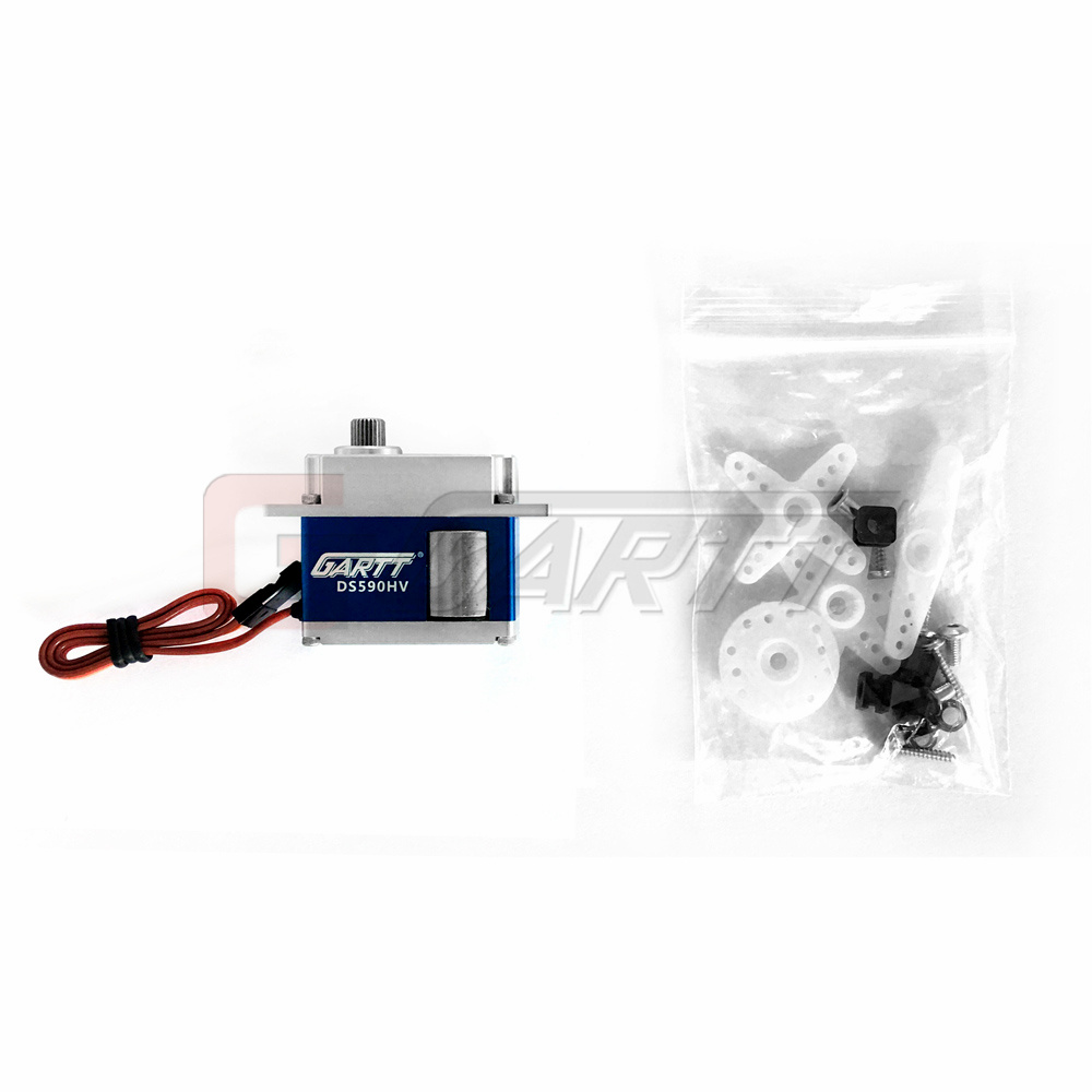 все цены на GARTT KST DS590MG Swashplate HV Servo with Digital Coreless Brushed for RC Align Trex 500 550 600 Helicopter