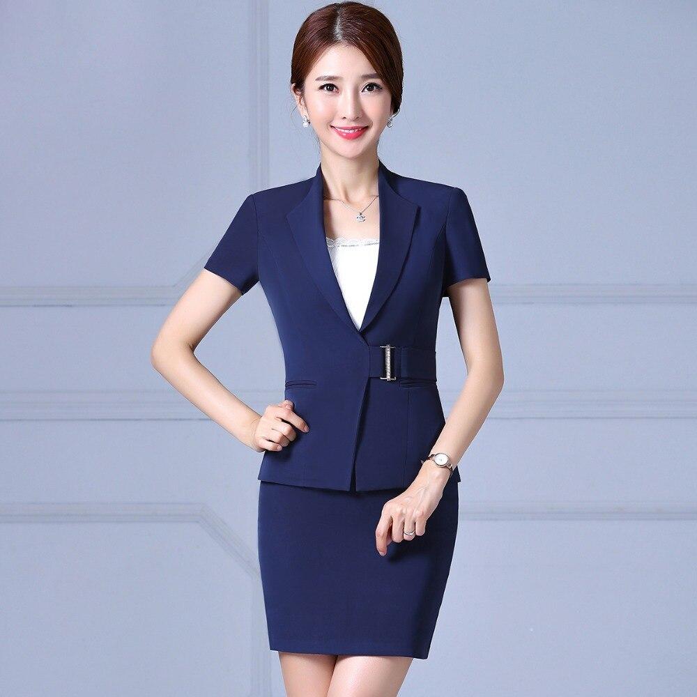 Womens business suits office uniform designs female ol s for Office uniform design catalogue